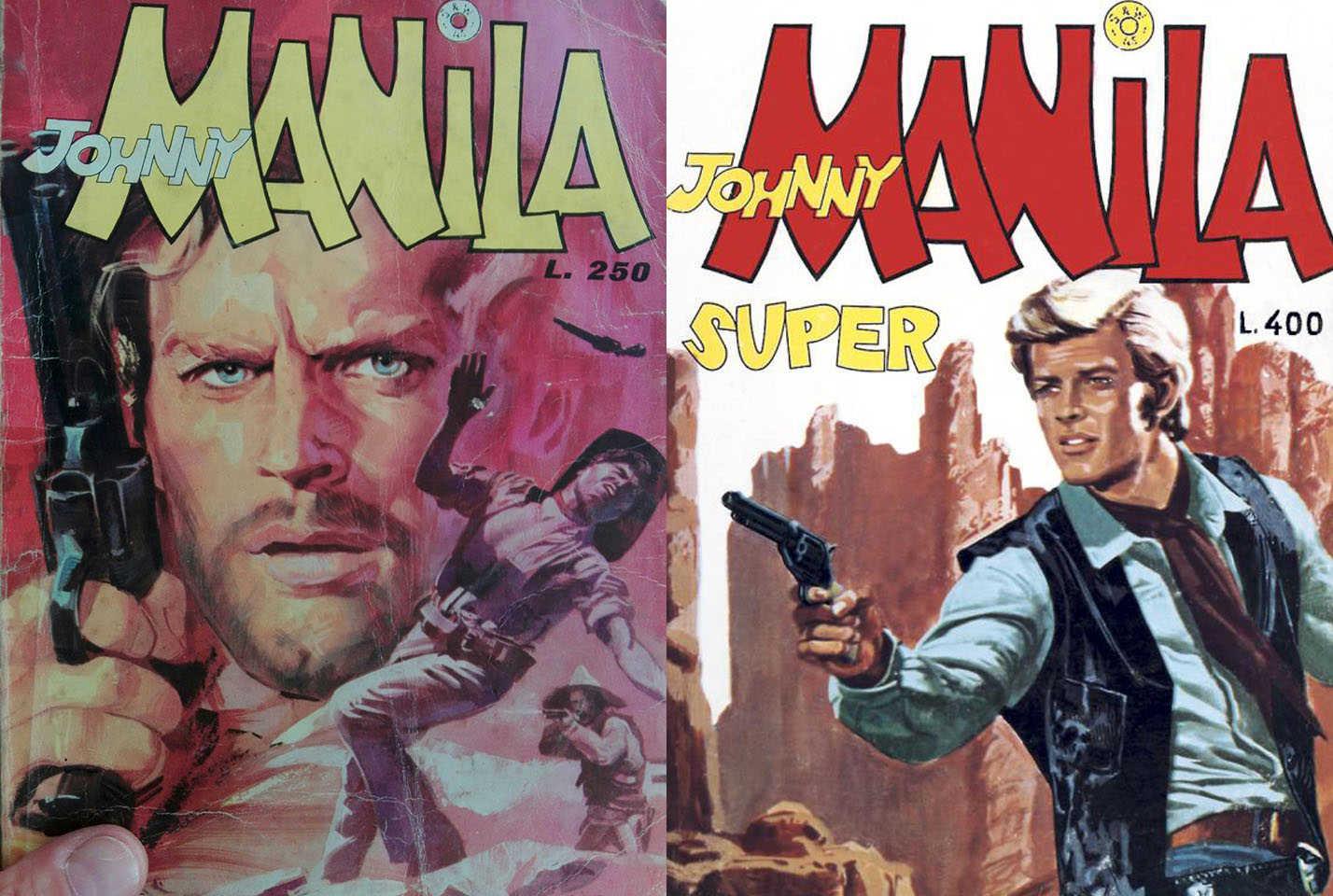 Fumetto Italiano Vintage: Johnny Manila