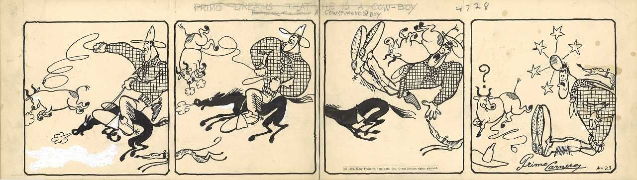 Primo Carnera cartoonist ?