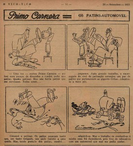 Primo Carnera cartoonist