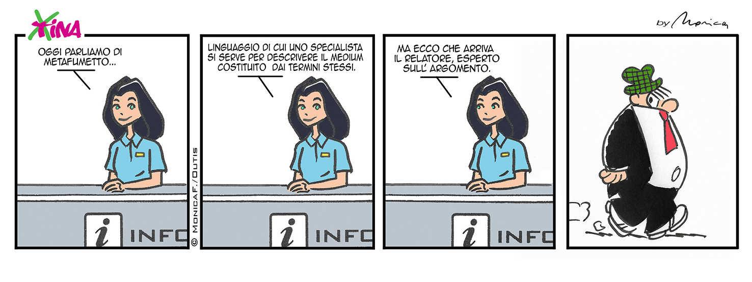 Xtina Metacomic strip