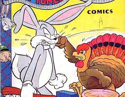 the thanksgiving in the comic books