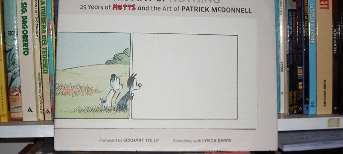 A beautiful Xmas gift received: Mutts the art of nothing