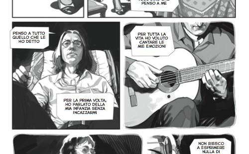 John Lennon biocomic