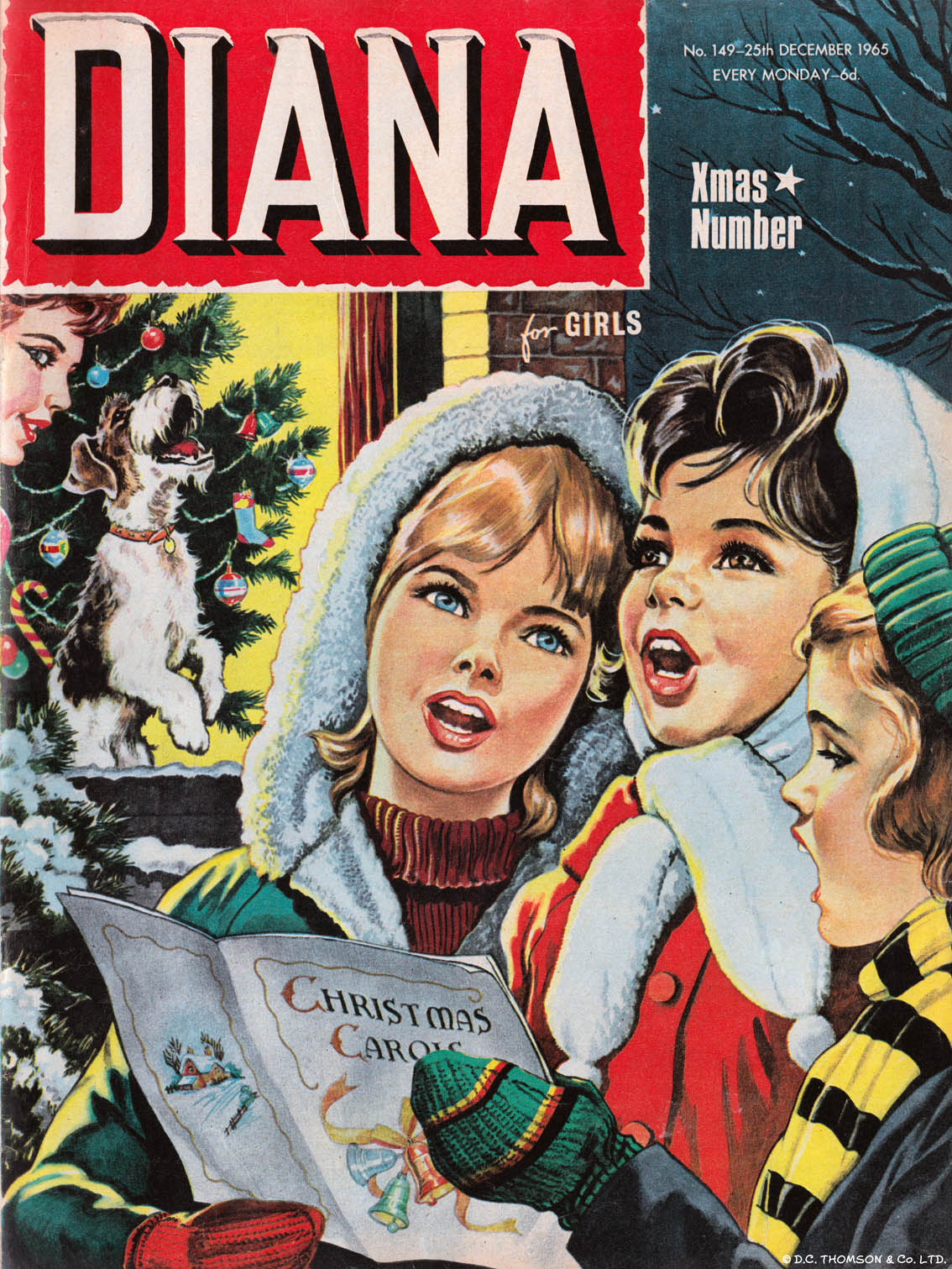 UK Comics Christmas Covers