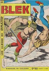 31 Janvier 1965 Blek le Roc abandonne les editions Dardo