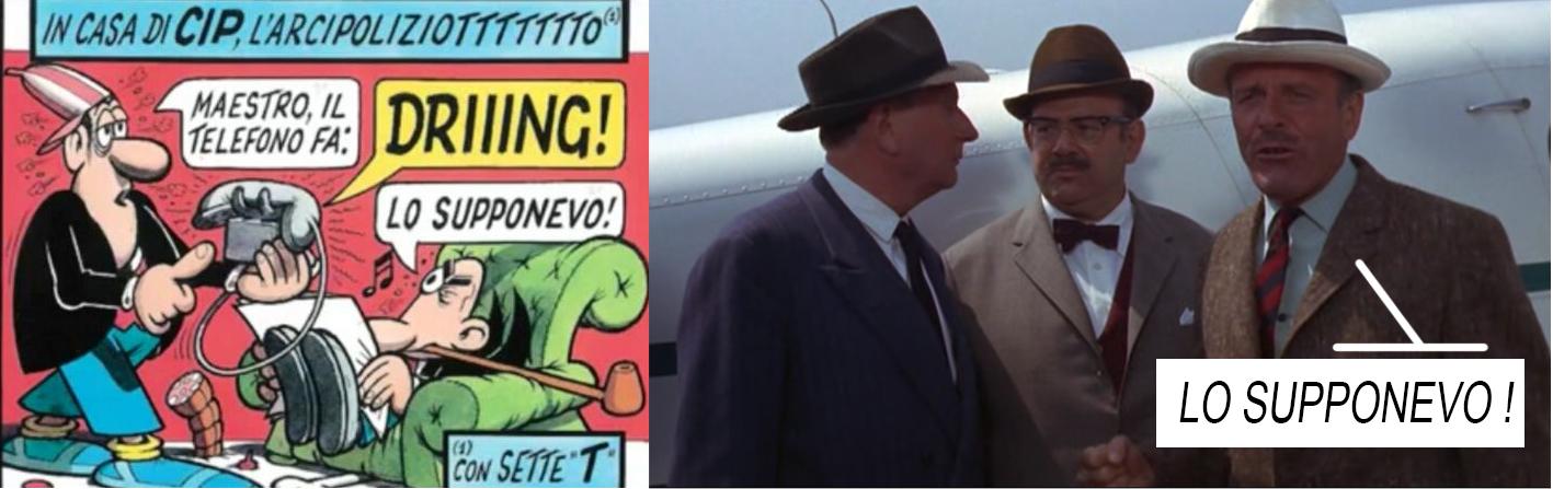 Cip l'arcipoliziotto vs Commissario Green: lo supponevo!