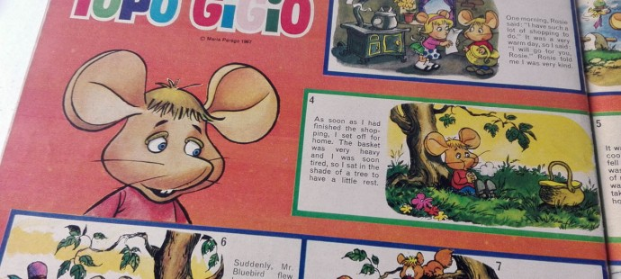 Topo Gigio in Candy Magazine by Gerry Anderson