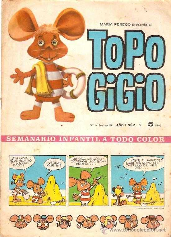 Topo Gigio in Spagna
