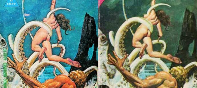 Une vieille bande dessinée (Années '70)
