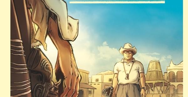 Sergio Leone great Bio Comic Book