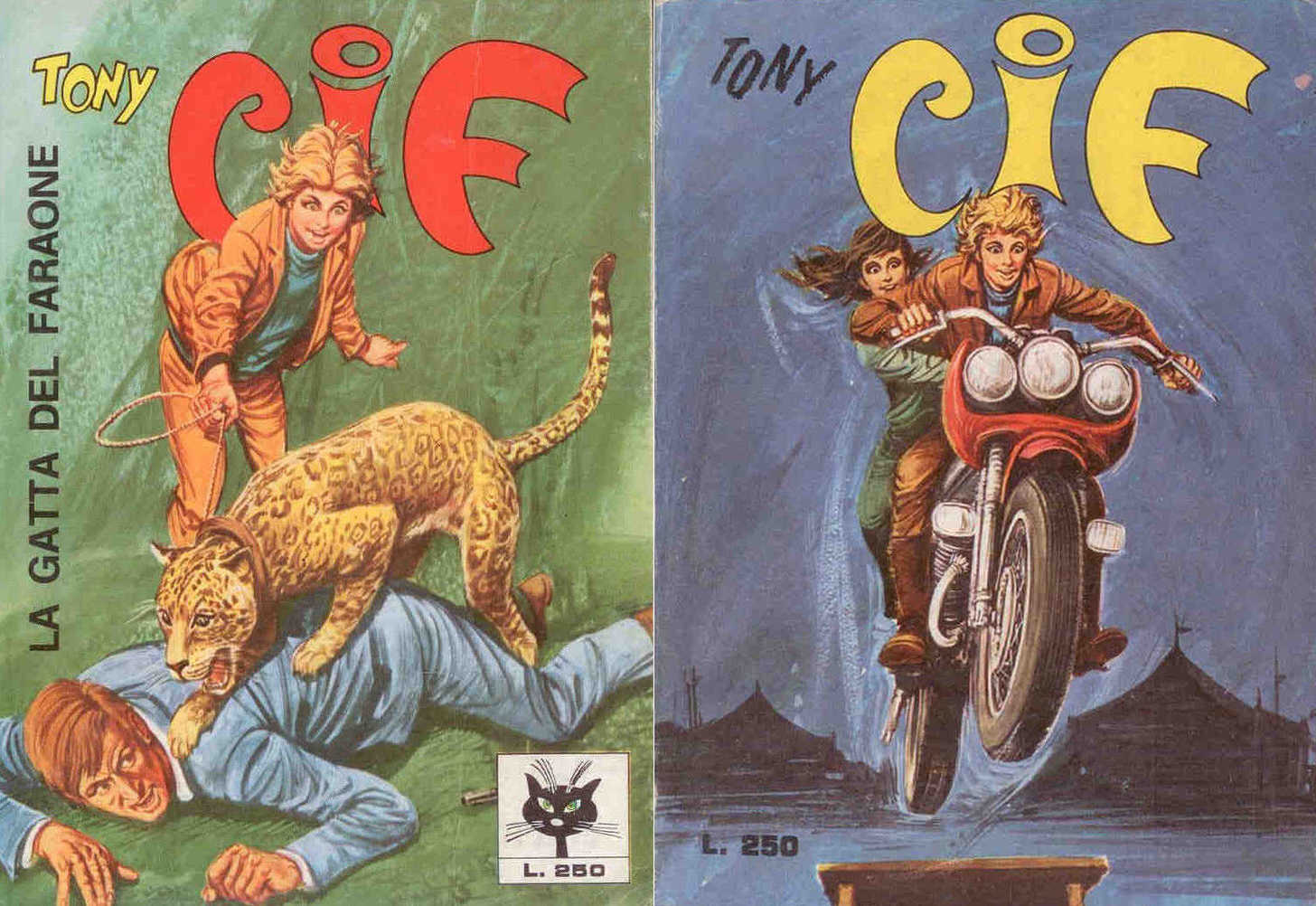 Fumetto Italiano Vintage Tony Cif