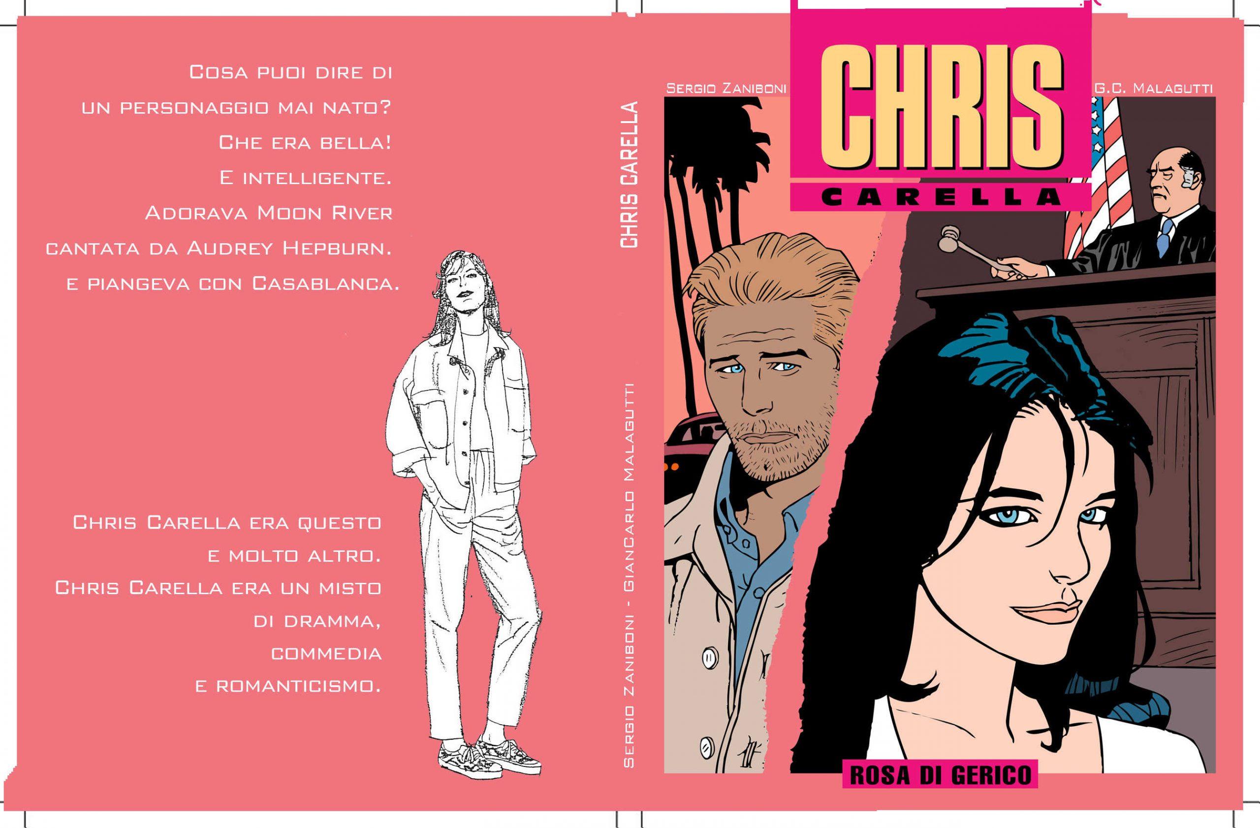 Chris Carella unpublished free comic