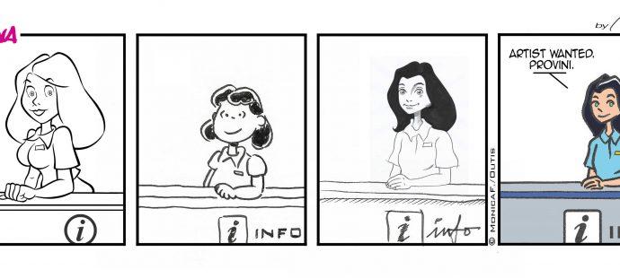 Xtina comic strip artist wanted