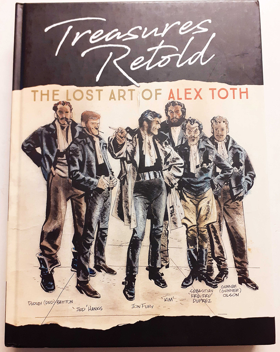 Another great book by Alex Toth