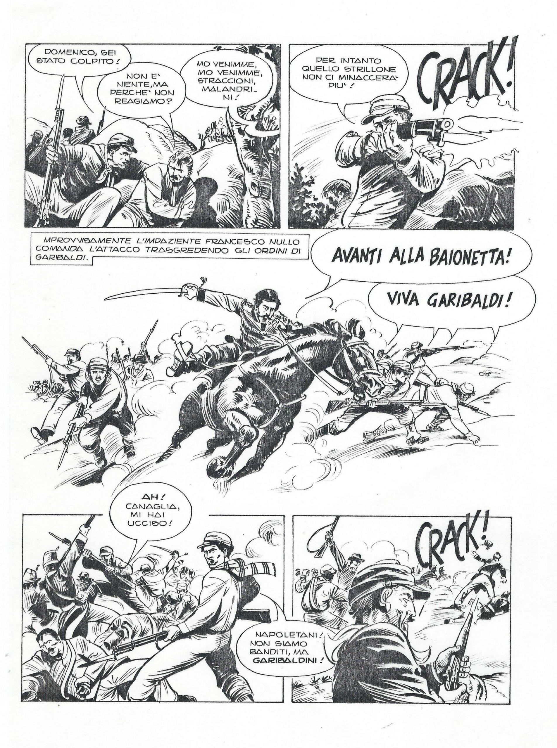Garibaldi biographic novel