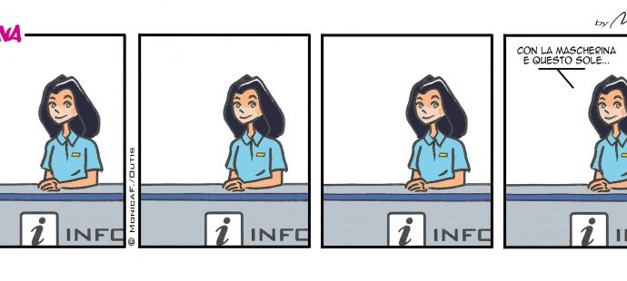 Xtina Comic Strip Abbronzatura