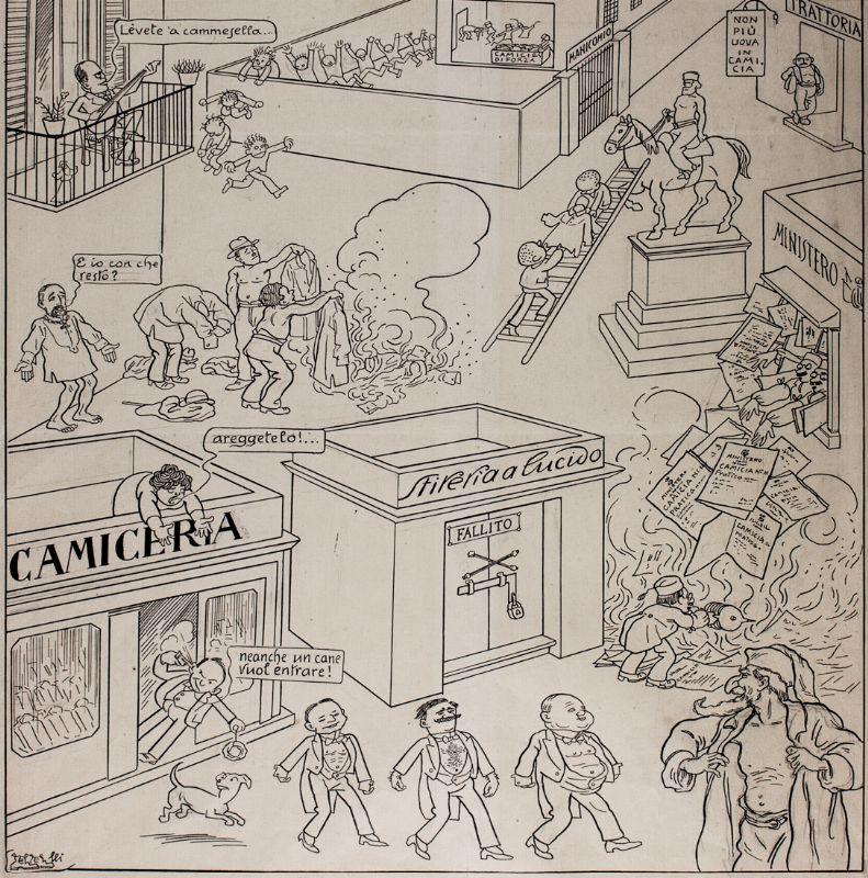 Born today Filiberto Scarpelli first italian cartoonist