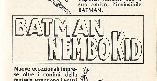 Comics Vintage ADV Batman Nembo Kid