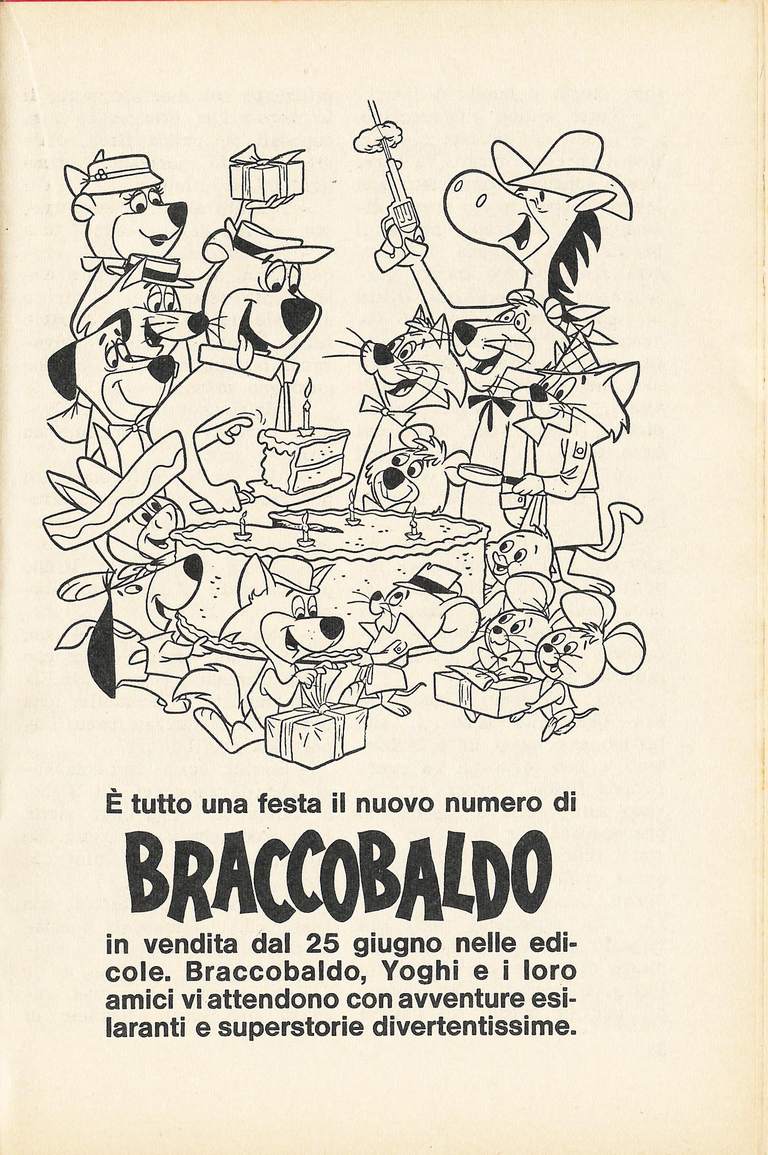 Comics Vintage ADV Braccobaldo