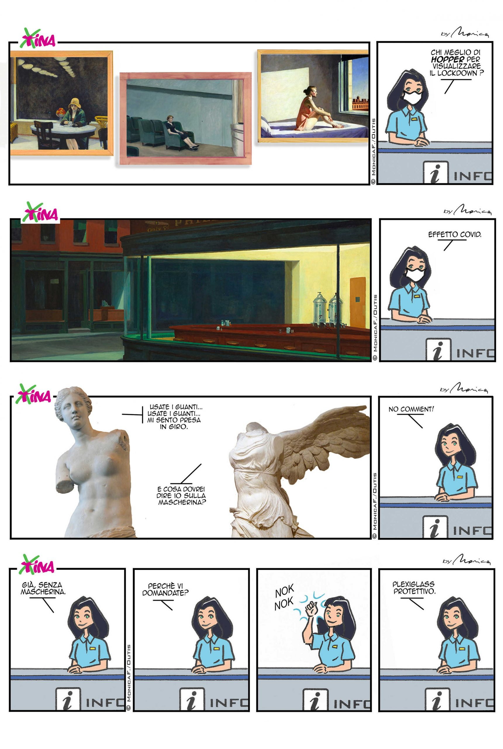 Xtina latest strips on Covid19