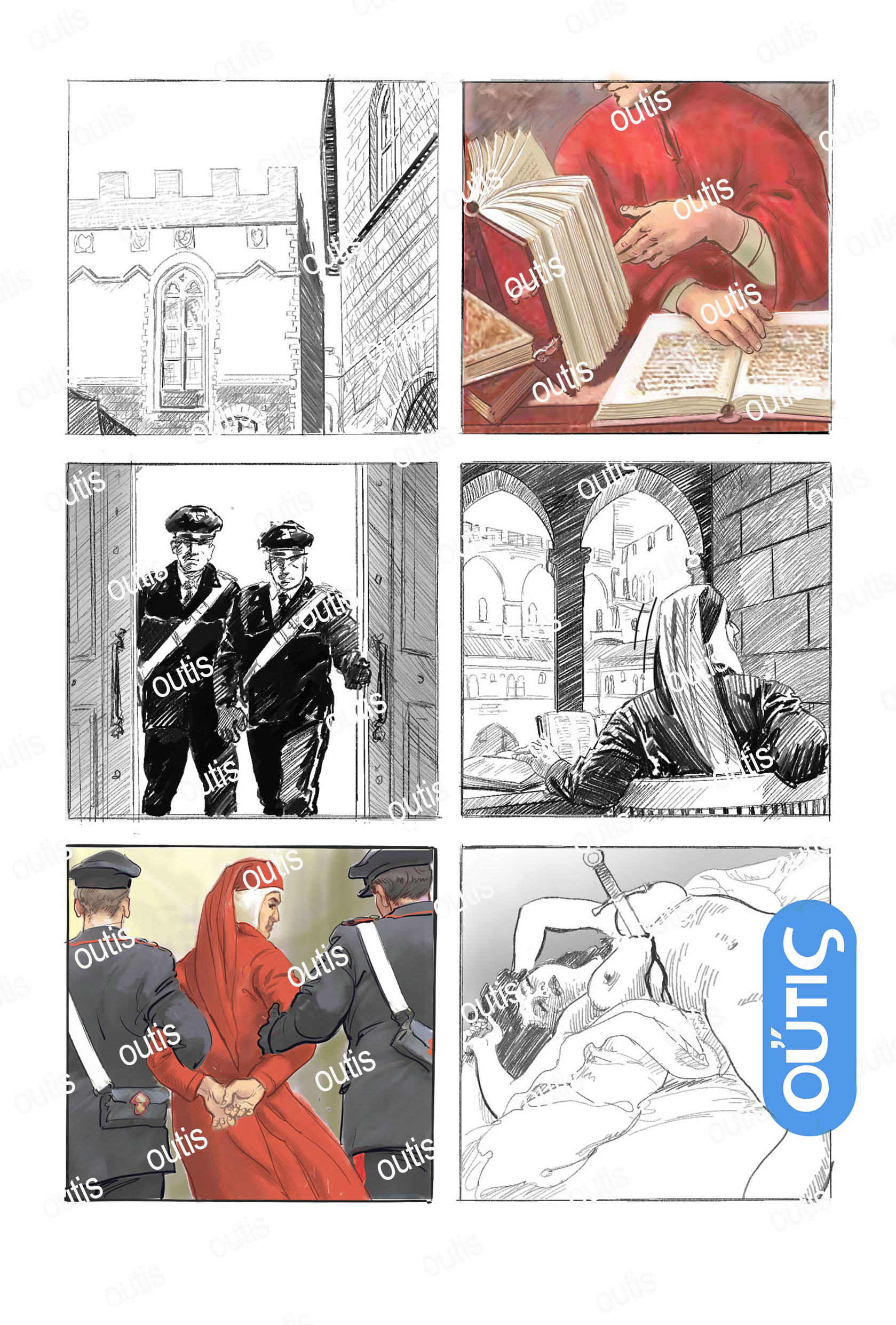 Dante Alighieri Graphic Novelist