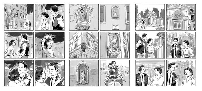 Storyboard by outisfumetti