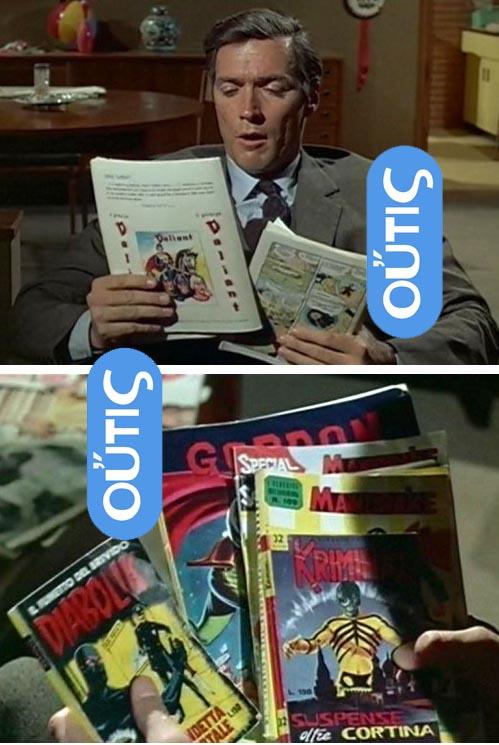 Clint Eastwood reads Fumetti