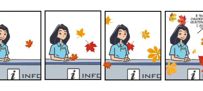 Xtina comic strips Fall is coming!