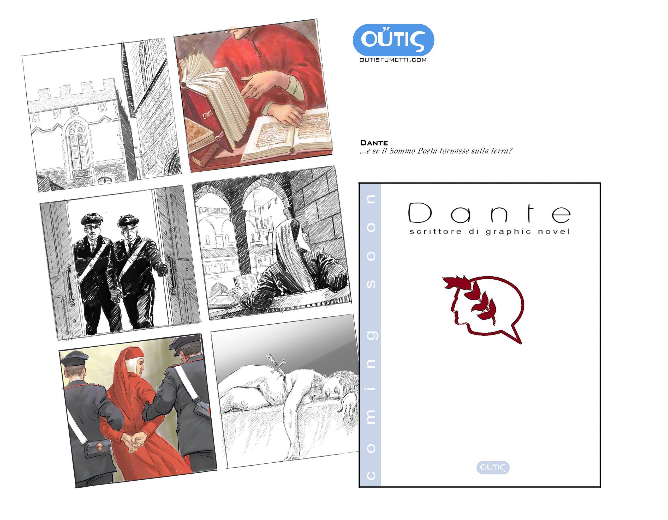 Dante Alighieri autore di graphic novel