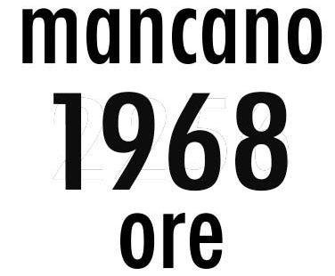 Mancano 1968 ore