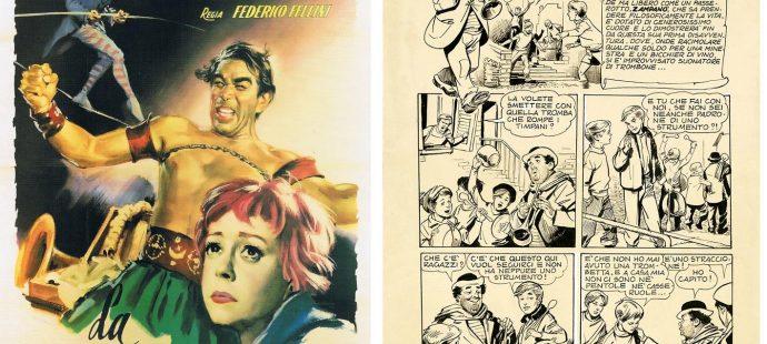 From Fellini's Zampanò to Quinto's Zampanò
