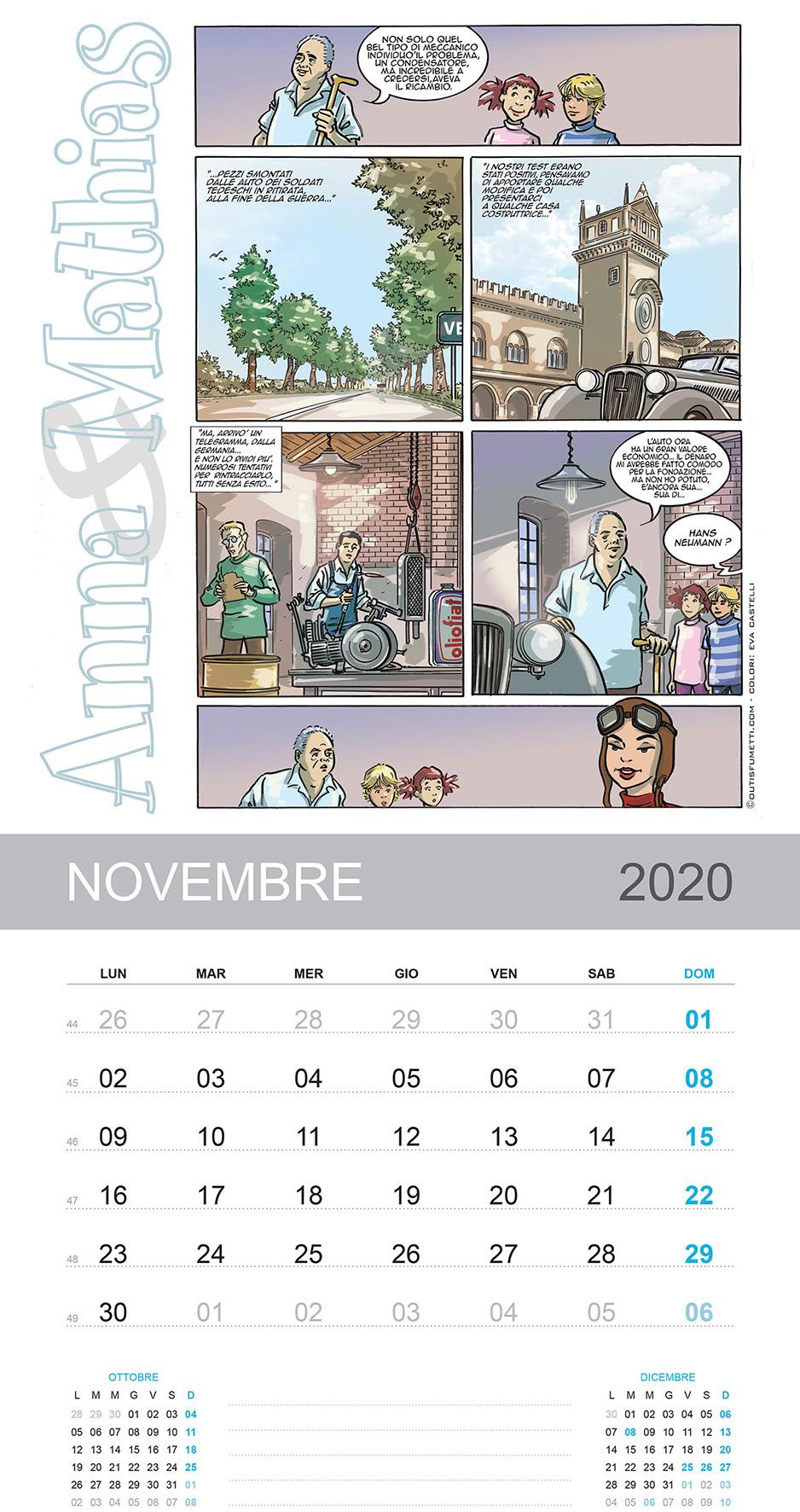 November with Anna and Mathias