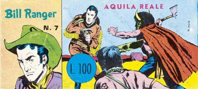 Obscure fumetti Bill Ranger