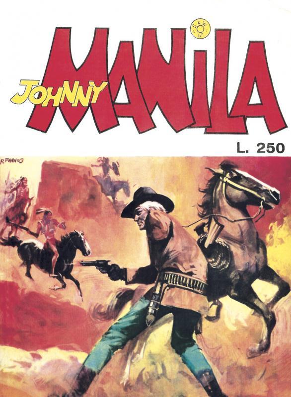 Obscure fumetti Johnny Manila