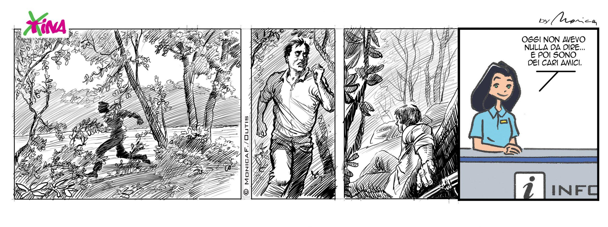 Xtina comic strip for rent