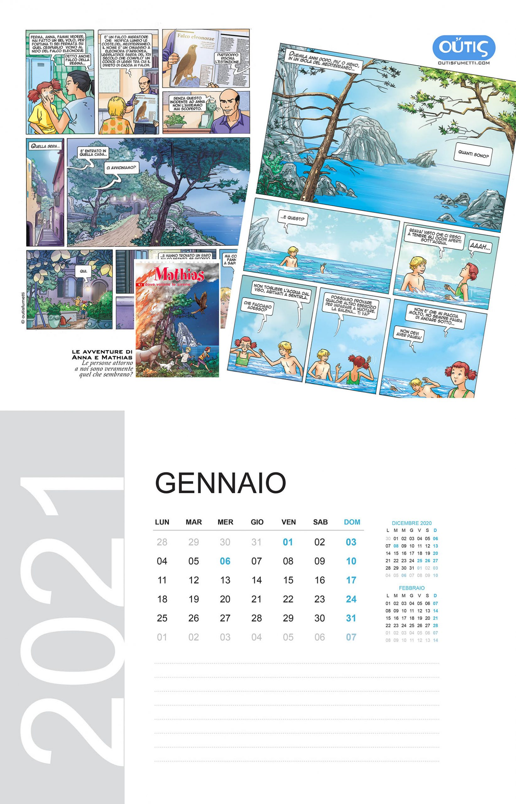 January with Outis Fumetti