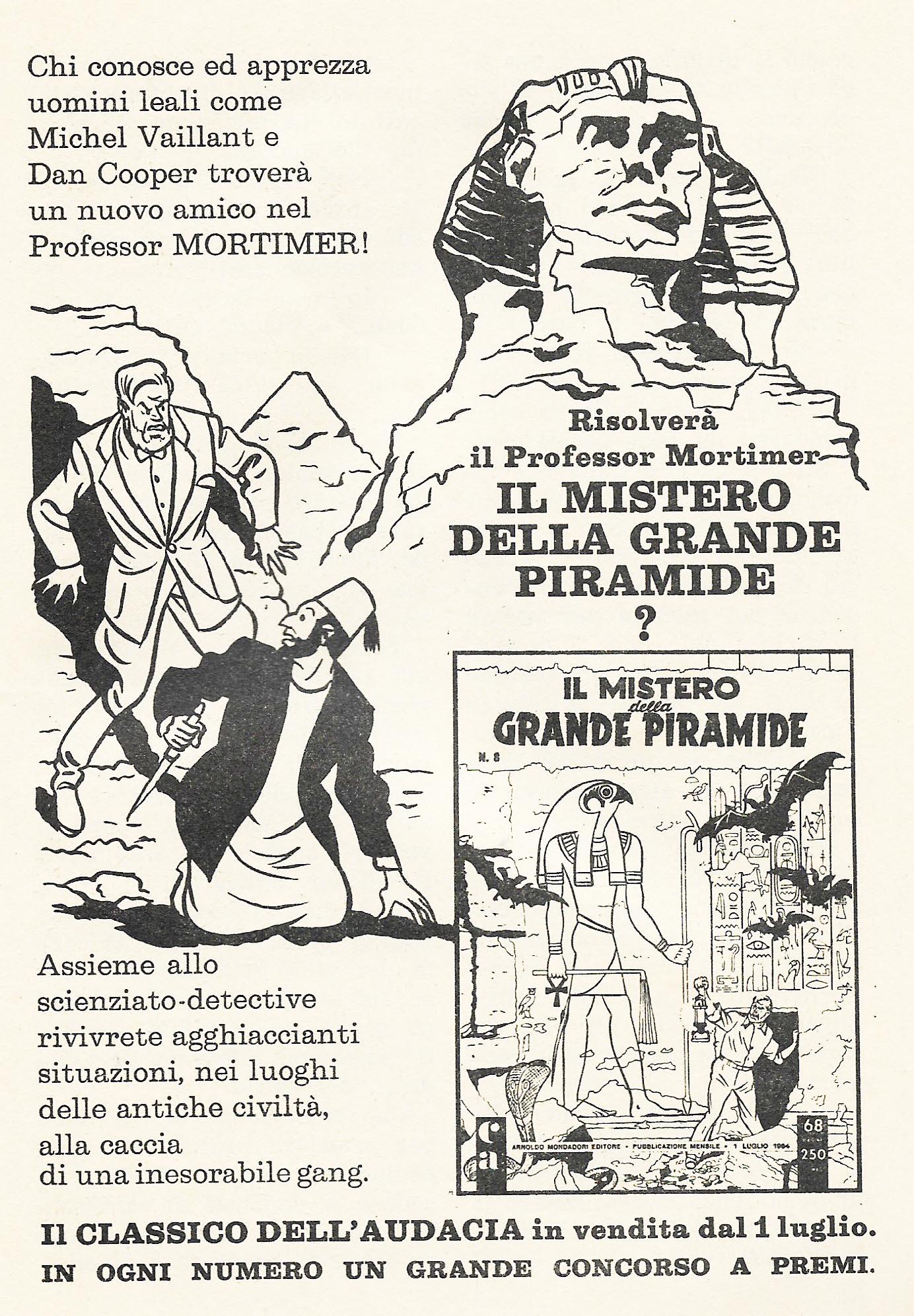 Vintage ADV Blake & Mortimer