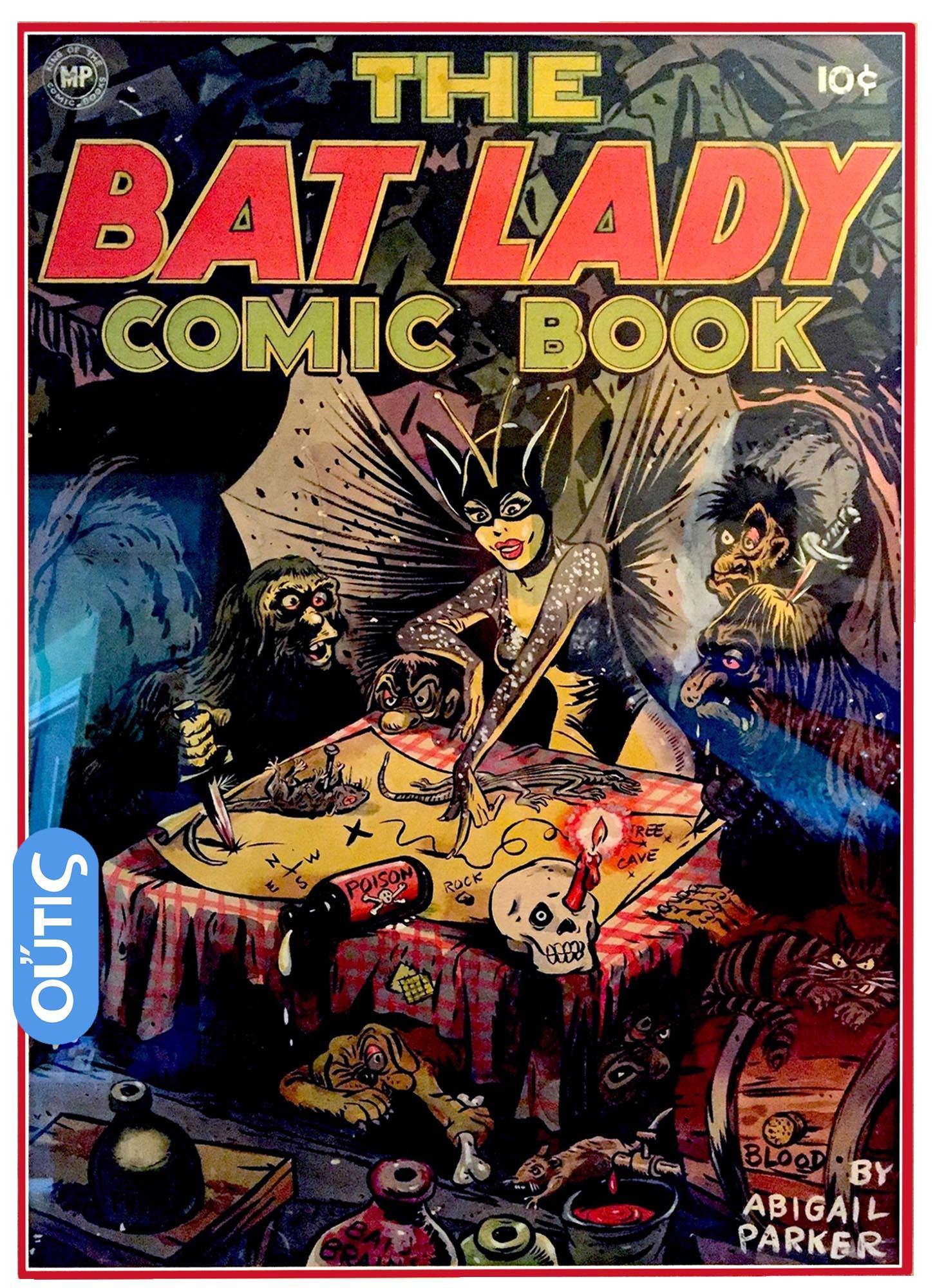 The Bat Lady comic book cover
