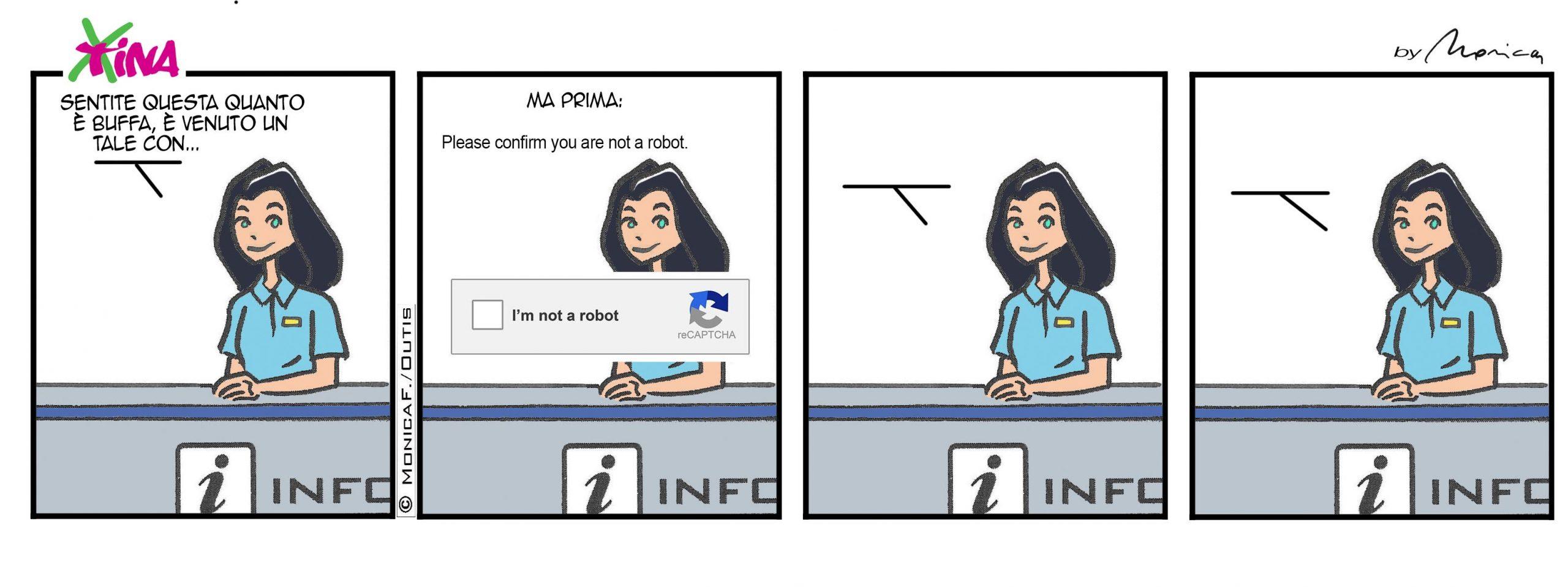 Xtina comic strip Captcha