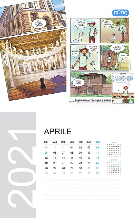 April with OutisFumetti