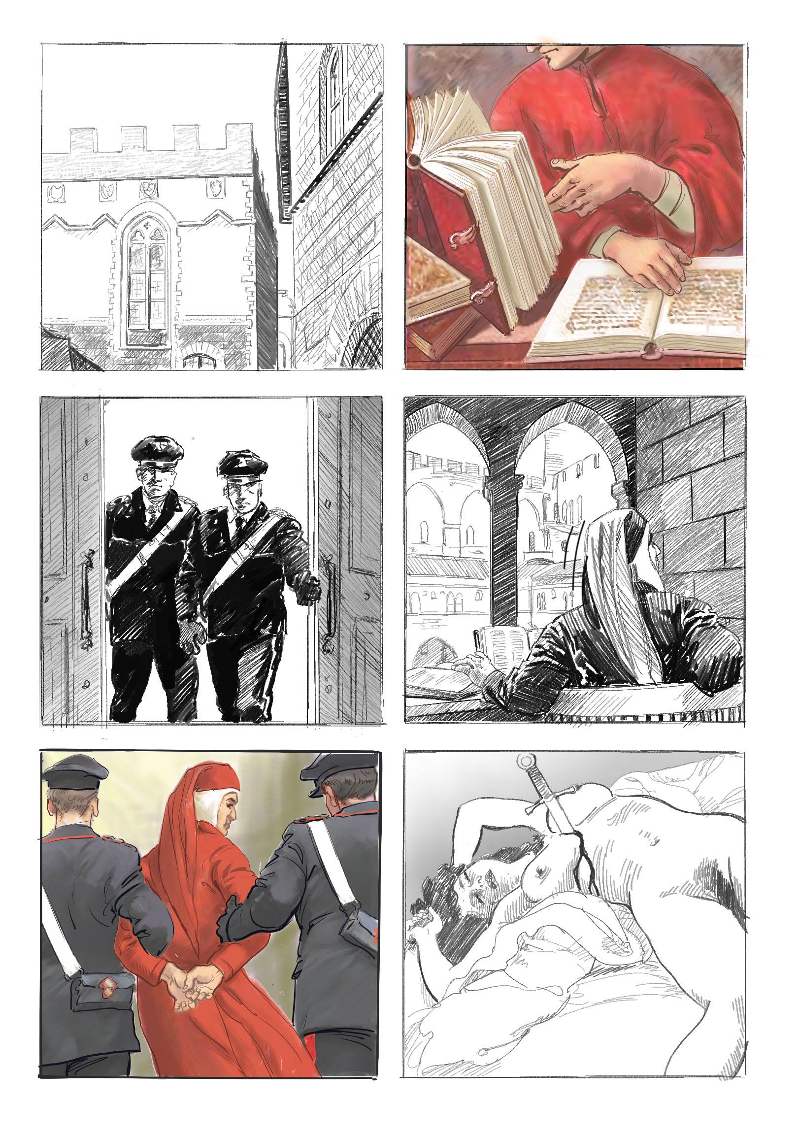 Graphic Novel celebrate 700th anniversary of Dante in 2021