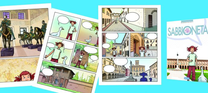 Graphic novel Sabbioneta tra magia e sogno