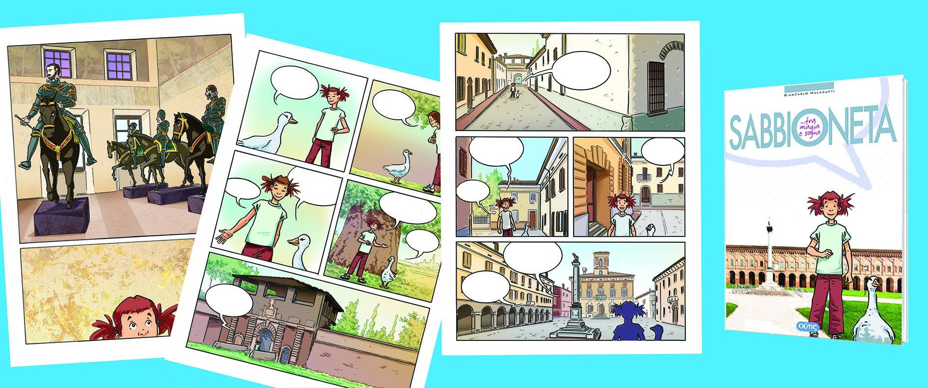 Graphic novel Sabbioneta tra magia e sogno
