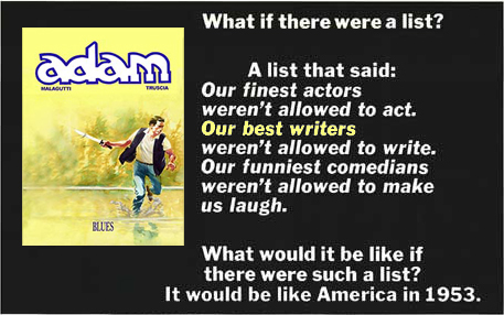 Adam What if there were a list?