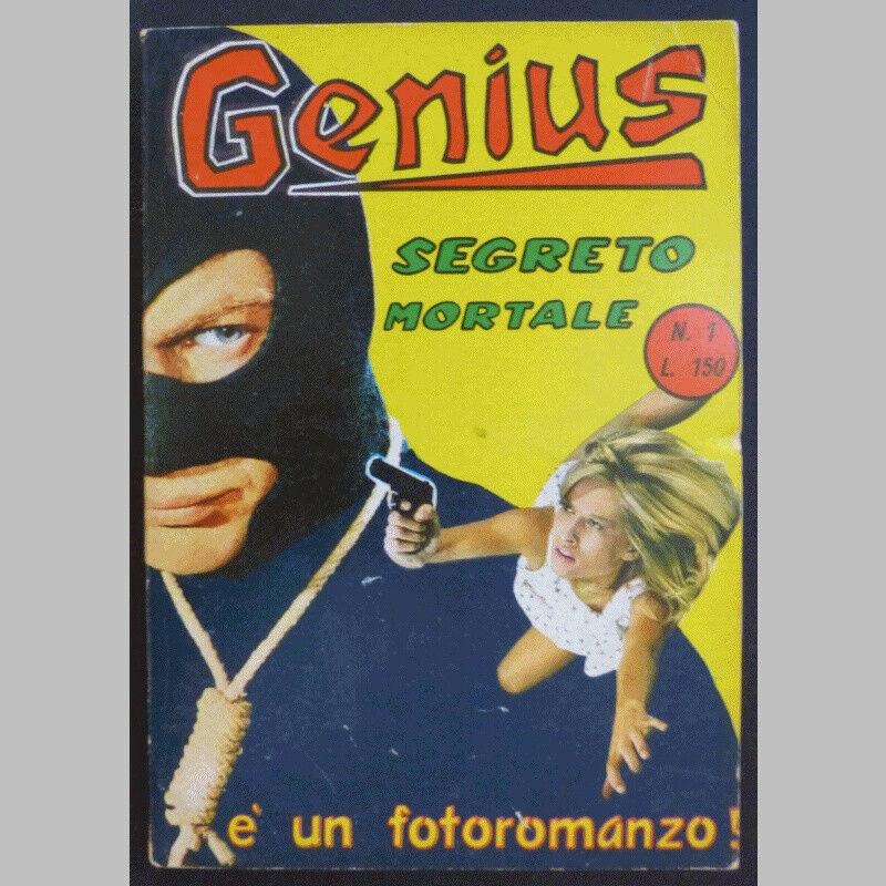 Fumetti neri Genius (fotoromanzo)