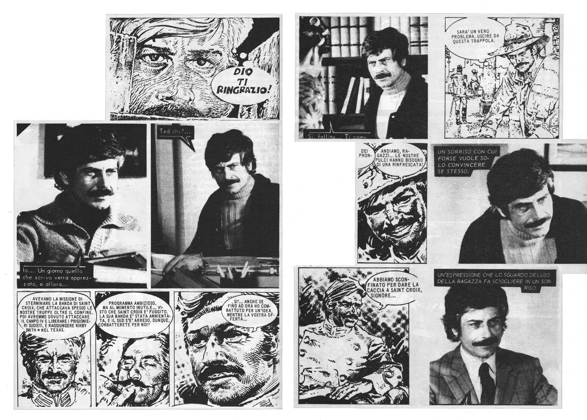 From Fotoromanzi to McCoy's comics by Palacios
