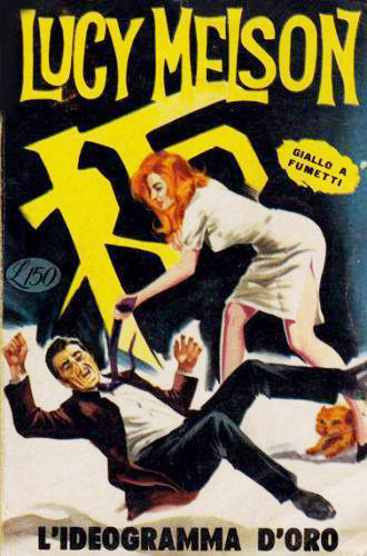 Giallo a fumetti Lucy Melson