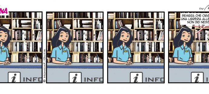 Xtina comic strip à la page