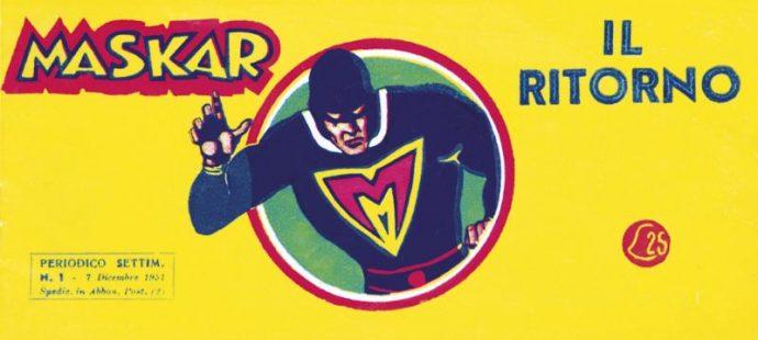 Fumetti Italiani Vintage: Maskar prima serie