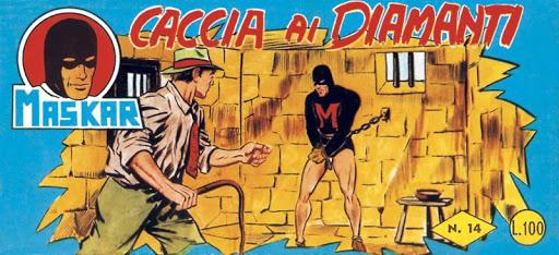 Fumetti Italiani Vintage: Maskar